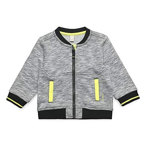 ESPRIT KIDS Baby - Jungen Sweatshirt Card Sweatshirt, per Pack Silber (Heather Silver 223), 86 (Herstellergröße: 86)