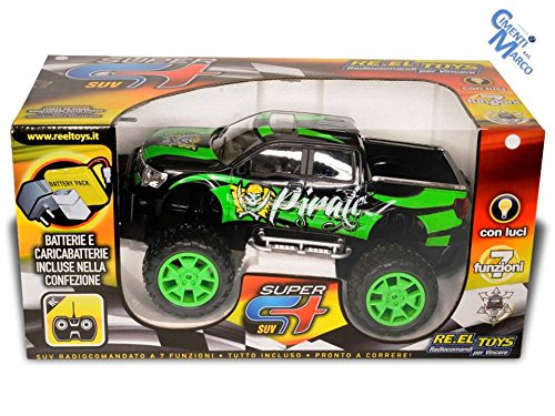 Re.El. Toys 2094 - Pirate R/C Suv 7 funzioni Scala 1:14