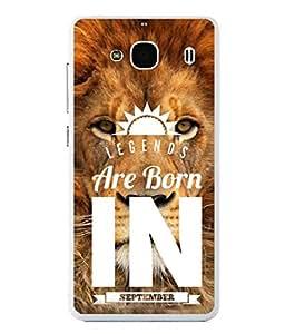 PrintVisa Designer Back Case Cover for Xiaomi Redmi 2 :: Xiaomi Redmi 2S :: Xiaomi Redmi 2 Prime (Legends are Born in September Birthday gift)