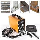 Saldatrice MIG - 130 elettrodi saldatrice professionale elettrodi saldatrice 120A 230 V elettrodi saldatura protezione da sovracorrente