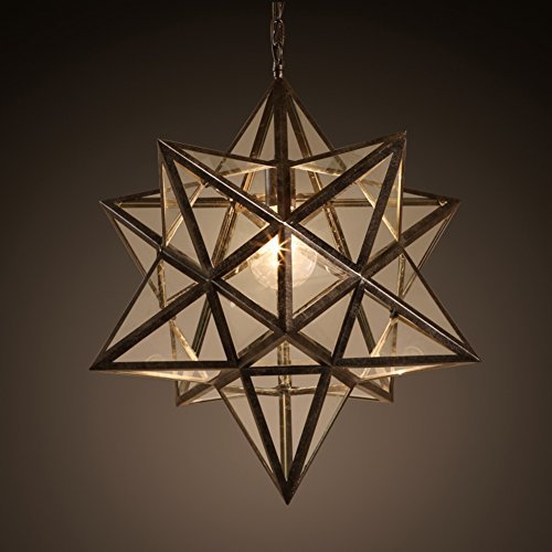 Western textile the best amazon price in savemoney pentagram chandelierspersonality iron single head tiffany style art led hanging lighting fixtures ceiling fixture aloadofball Gallery
