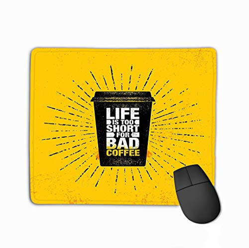 Mouse pad Coffee Friends Make Perfect Blend Inspiring Cafe Decoration Creative Motivation Quote Poster Template Kitchen Art Vector steelseriesKeyboard