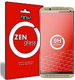 nandu I ZenGlass [2 Stück] Flexible Glas-Folie für ZTE Axon 7 Mini Panzerfolie I Bildschirm-Schutzfolie 9H I (Kleiner Als Das Gewölbte Bildschirm)