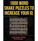 [ 1000 Word Snake Puzzles To Increase Your Iq ] By Toth M a M Phil, Kalman (Author) [ Sep - 2013 ] [ Paperback ]