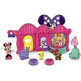 La Casa De Mickey Mouse - Nueva peluquería de mascotas (Mattel Y1893)
