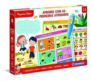 Clementoni - APRENDE COM AS PRIMEIRAS ATIVIDADES (67632 - Versión Portuguesa)
