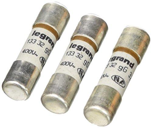 Preisvergleich Produktbild Legrand LEG92915 Sicherungskartusche für Sicherungshalter ohne Kontrollleuchte, 32 A, 7360 W, 10,3 x 38