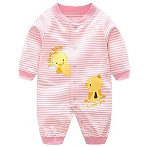 Bebs-Pijama-Algodn-Mameluco-Nias-Nios-Peleles-Sleepsuit-Caricatura-Trajes-9-12-Meses