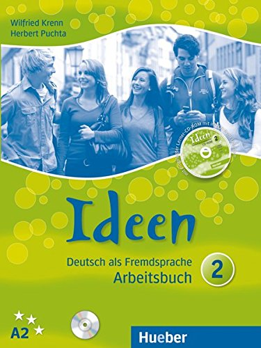 Ideen. Arbeitsbuch. Per le Scuole superiori. Con CD Audio. Con CD-ROM: IDEEN 2 Arbeitsb.+CD z.AB.+CD-ROM por Herbert Puchta