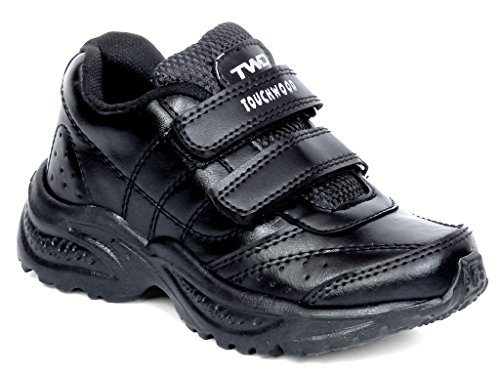 Touchwood Kids Black SuperLight EVA School Shoes for Boys and Girls (3-15 Years)