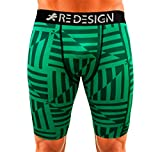 Best Mens Compression Shorts - Redesign Limited Edition Printed Compression Men's Shorts Tights Review