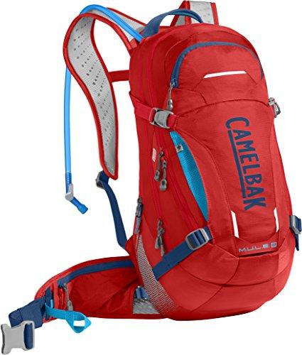 CamelBak Unisex M.u.l.e. Lr Hiking-Hydration-Packs Racing Red/Pitch Blue