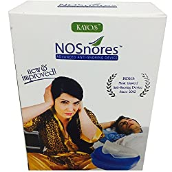Kayos Nosnores Anti Snoring Device - Snoring Mouthguard for Sleep Apnea - Stops Snoring Instantly