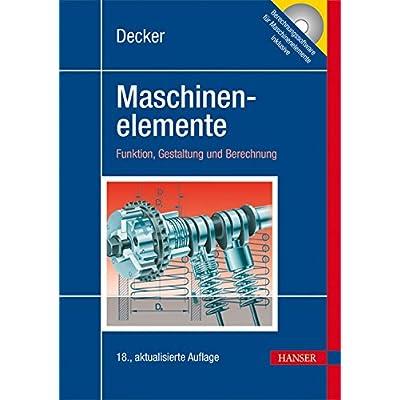 Decker Maschinenelemente: Tabellen Und Diagramme PDF Download Free ...