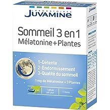 juvamine 067118 sueño Melatonina + Plantas 3 en ...