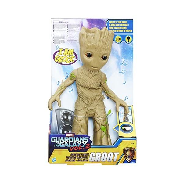Guardianes de la Galaxia Marvel Groot bailarín (Hasbro C0225EU4) 6