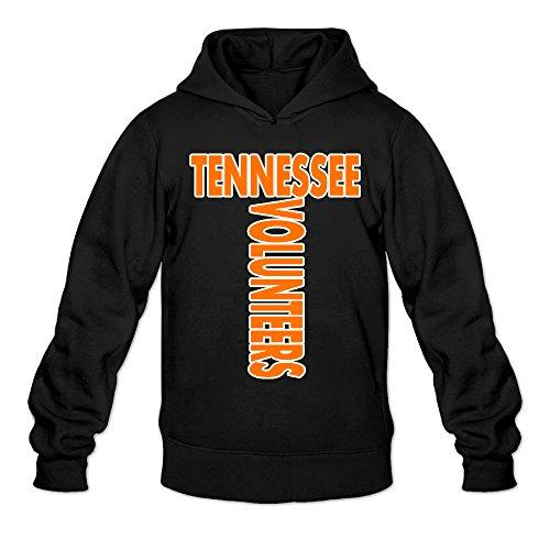 DVPHQ Herren Kapuzen-Sweatshirt, Motiv: University of Tennessee Volunteers, Schwarz -