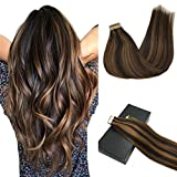 Googoo-50g20pcs-Tape-in-Ombre-Hair-Extensions-Skin-Weft-Hair-Extensions-Seamless-Straight-Remy-Tape-in-Human-Hair-Extensions-Balayage-Glue-in-Extensions-16-24inch