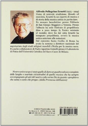 Zoom IMG-1 storia del canto gregoriano