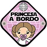 Parodia Star Wars - Princesa Leia. Princesa a bordo