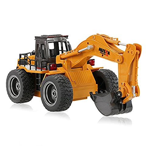 GoolRC Remote Radio Control RC Excavator Engineering Vehicle Battery Powered Electric Car Truck Toys for