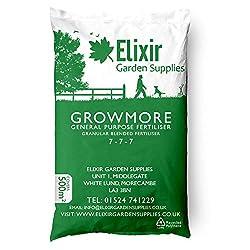 Elixir Gardens Growmore 07-07-07 Elixir Special Blend All Round General Purpose Fertiliser   25KG