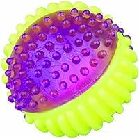 Trixie 33641 Blinkball, thermoplastisches Gummi (TPR), 7 cm, farblich sortiert
