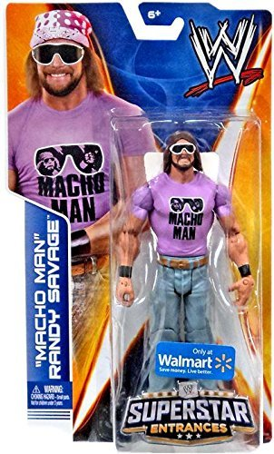 Mattel WWE Wrestling 2014 Exclusive Superstar Entrances Action Figure Macho Man Randy Savage by Mattel - Wwe-ausrüstung