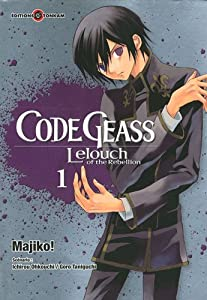 Code Geass - Lelouch of the Rebellion Edition simple Tome 1