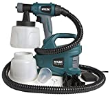 MYLEK® PRO-SPRAY 700W Electric Paint Sprayer Gun Kit - 2 Paint Cups, Shoulder