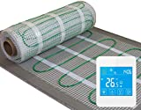 Electric underfloor heating Kit, 160W/m2 with touch screen thermostat **ALL SIZES** LIFE TIME