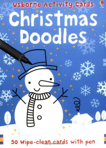 Christmas Doodles (Usborne Activity Cards)