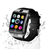 C-Xka Bluetooth Smart Watch - Touchscreen Smart Armbanduhr Telefon mit Sim-Karten Slot Kamera Schrittzähler Sport Tracker