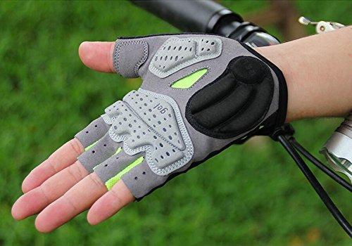 gub-2098-cycling-gloves-bicycle-gloves-half-finger-bike-gloves-racing-biking-gloves-5mm-gel-pad-gree