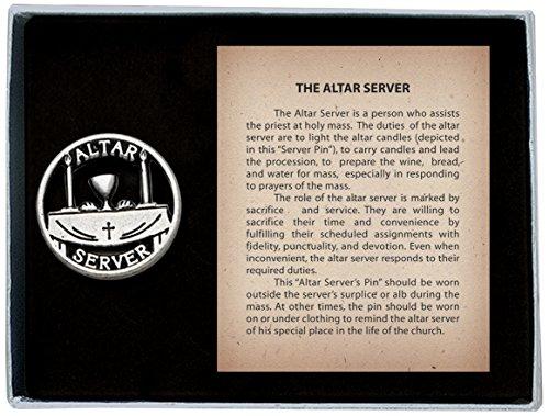 3Altar Server Pin mit Nachricht Karte ()