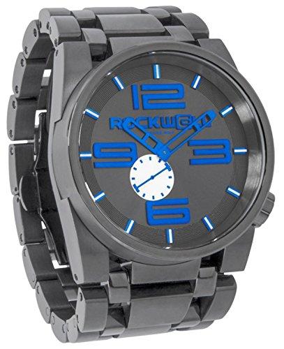Rockwell Time ff-112Gunmetal Blue Uhr, 50mm