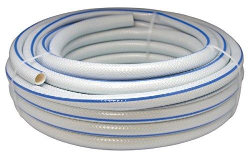 Aqua Control 51515K – Pack de 5 manguera jardín, color blanco