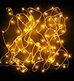 Blackberry Overseas Yellow Colored Decorative RICE LED Lights, 7 metre Long