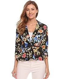 5262aa242cb3a6 Amazon.it: fiori - Giacche da abito e blazer / Tailleur e giacche ...