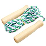 Beautyrain Cute Children Rope Skipping Kids Jump Rope Sport Motions Game Wood Lovely