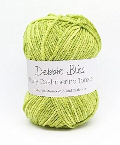 Debbie Bliss Baby Cashmerino Tonals Hand Strickgarn, 50g 04Lime