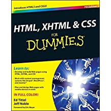 HTML, XHTML and CSS For Dummies by Ed Tittel (2011-01-11)