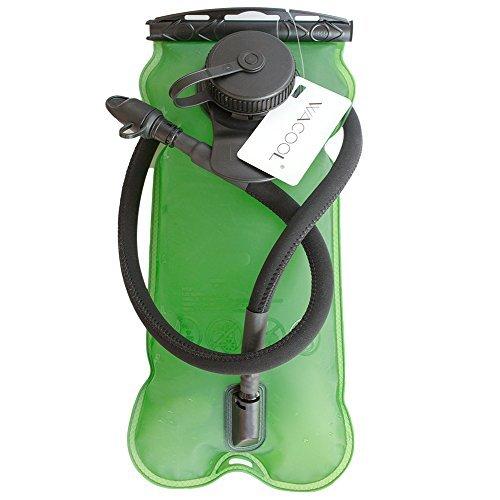 WACOOL 3L 3Liter 100oz BPA Free Eva Hydration Pack Bladder, Leakproof Water Reservoir, FDA Approved (100 Oz-blase)