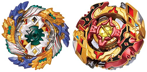 Preisvergleich Produktbild Super z Beyblade Toys B-122+B-128 Spin Fighters gyro Warrior(2 Pack) ByFEI DE