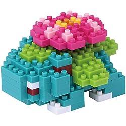 Kawada de tamaño micro bloque de construcción nanoblock - NBPM-018 Pokemon Fushigibana, 160 piezas! Grado de dificultad: (Fácil) 2 sobre 5 (difícil)