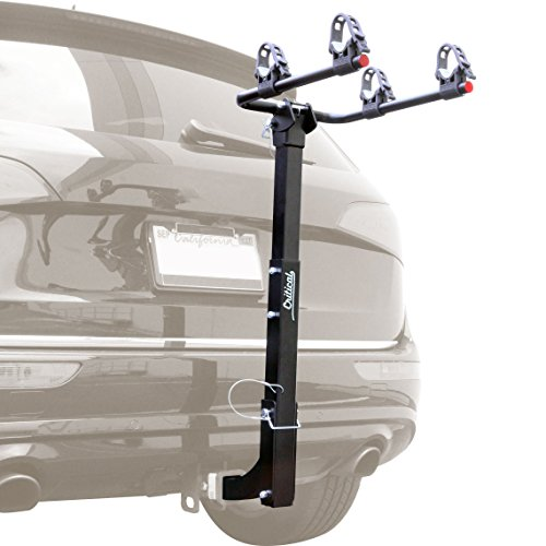 Critical Cycles Lenox 2-Bike Hitch Mount Rack with 2-Inch Receiver Black One Size (Hitch Rack Bike Saris)