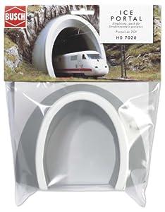 Busch 7020 Ice - Boca del túnel para Trenes de Alta Velocidad HO Importado de Alemania