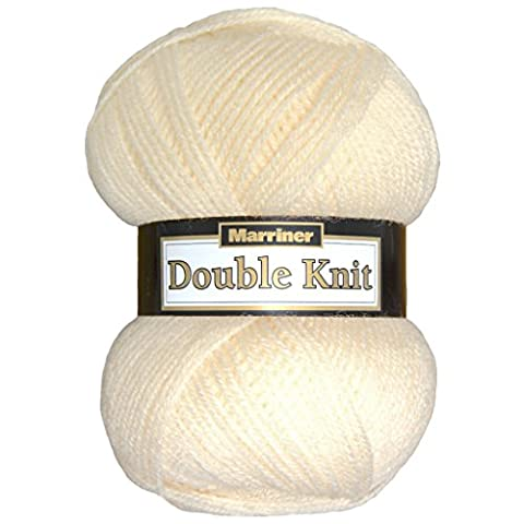Marriner Double Knit 100G   DK Yarn/Wool   Acrylic (Cream)