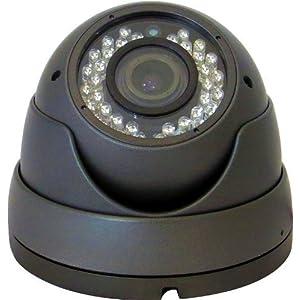 V-See Dome Überwachungskamera 1080P HD AHD CVI TVI CVBS 4 in 1 CCTV-Kamera Wasserdichte Überwachungskamera 2.8-12mm Objektiv 36 IR Nachtsicht Innen und Außen Aluminium Vandalensicher Schwarz Farbe