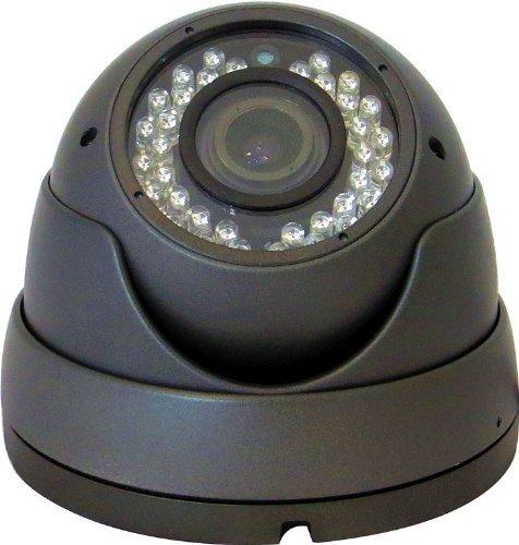 V-See Dome Überwachungskamera 1080P HD AHD CVI TVI CVBS 4 in 1 CCTV-Kamera Wasserdichte Überwachungskamera 2.8-12mm Objektiv 36 IR Nachtsicht Innen und Außen Aluminium Vandalensicher Schwarz Farbe 4-ccd-dome